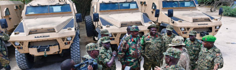 U.S. Supports Peacekeeping With Vehicle Donations to Uganda