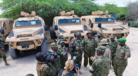 U.S. Supports Peacekeeping With Vehicle Donations to Uganda