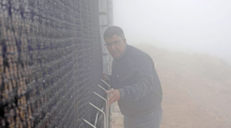 Fog Catchers Conjure Water Out of Moroccan Mist