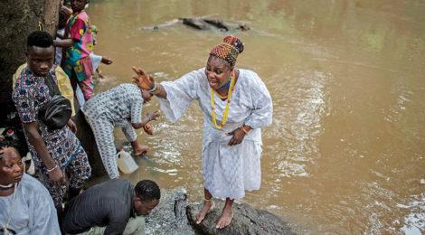 Yoruba Festival Celebrates  Goddess of Fertility, Water