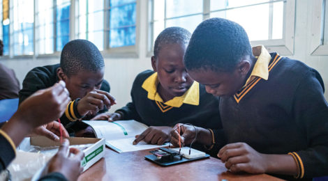 South African Kids Learn to Code