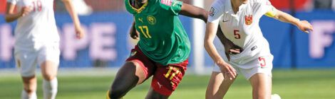 Cameroonian Football Star Opens Academy for Girls