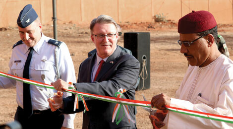 U.S. Gives Command-and-Control Facility to Niger