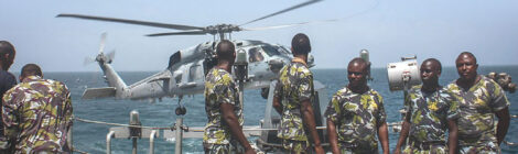 Kenya Navy Delivers Medical Aid to Mozambique