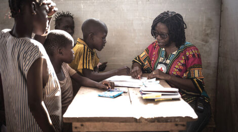 Sketch Therapy Helps CAR Children Draw Out the Pain