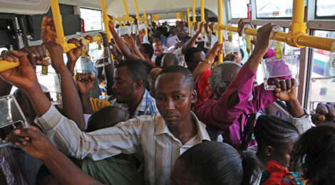 Tanzanian Development Project Helps Commuters