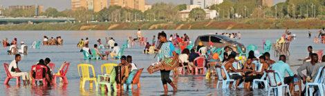 النيل يساعد الخرطوم على تلطيف حرارة الجو