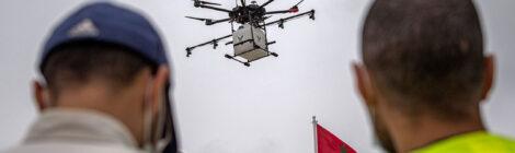 عيون في السماء: متابعة الحظر الصحي العام باستخدام الطائرات المسيرة