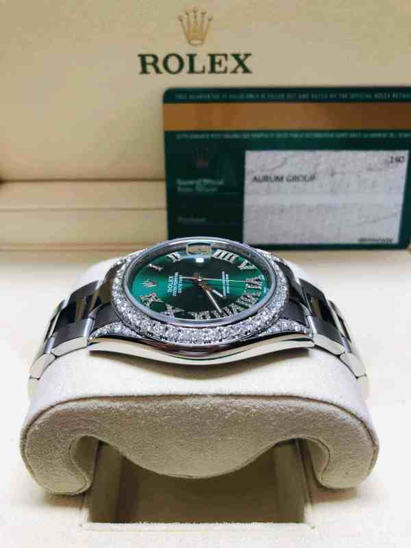rolex datejust diamond bezel front 2