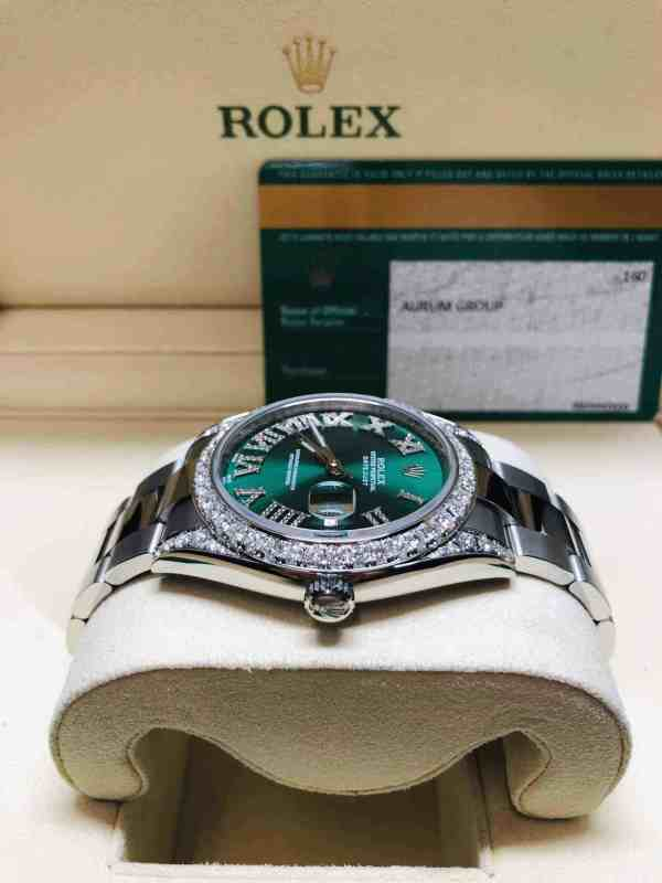 rolex datejust diamond bezel front 3