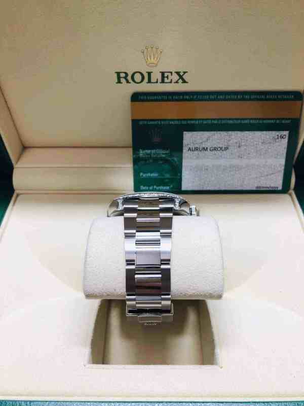 rolex datejust diamond bezel strap