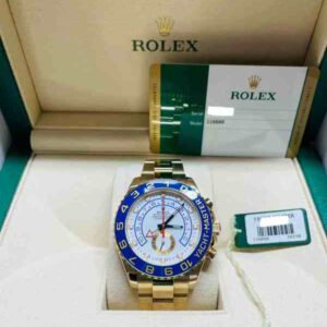 rolex yacht-master yellow front 4