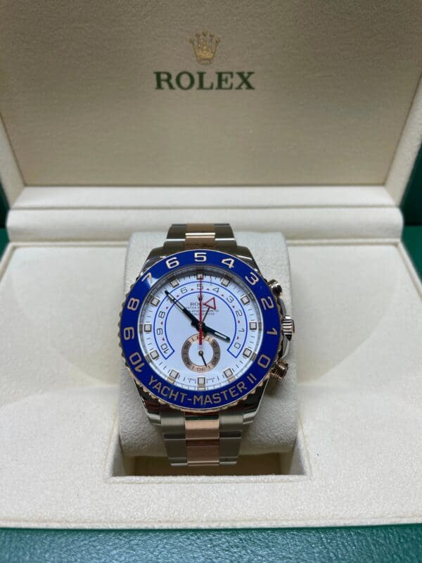 Rolex 116681 Yacht Master Front