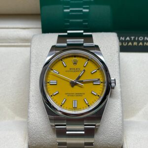 Rolex Yellow Dial