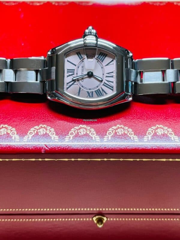 Cartier 2675 Pink Dial Front 2