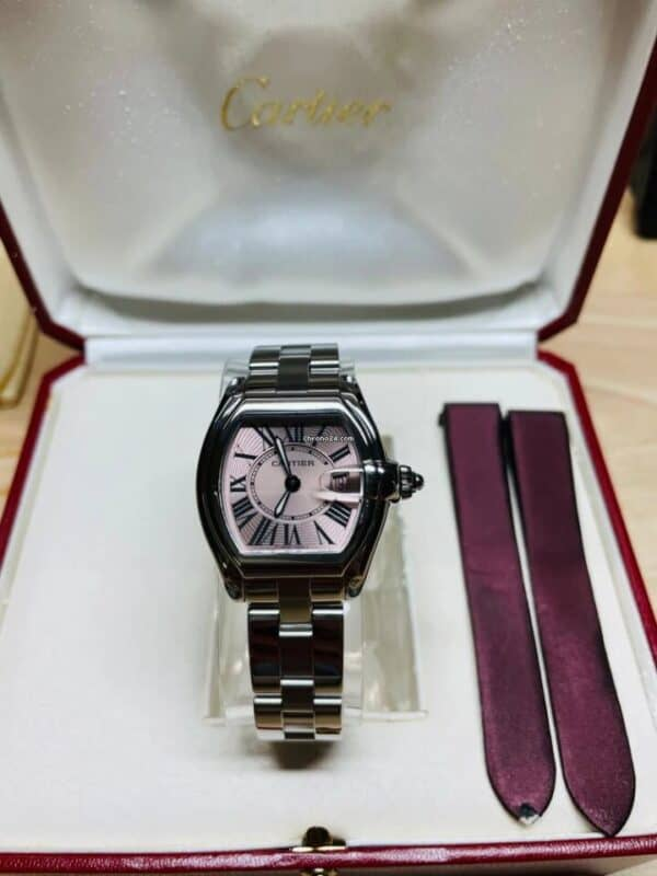 Cartier 2675 Pink Dial Front