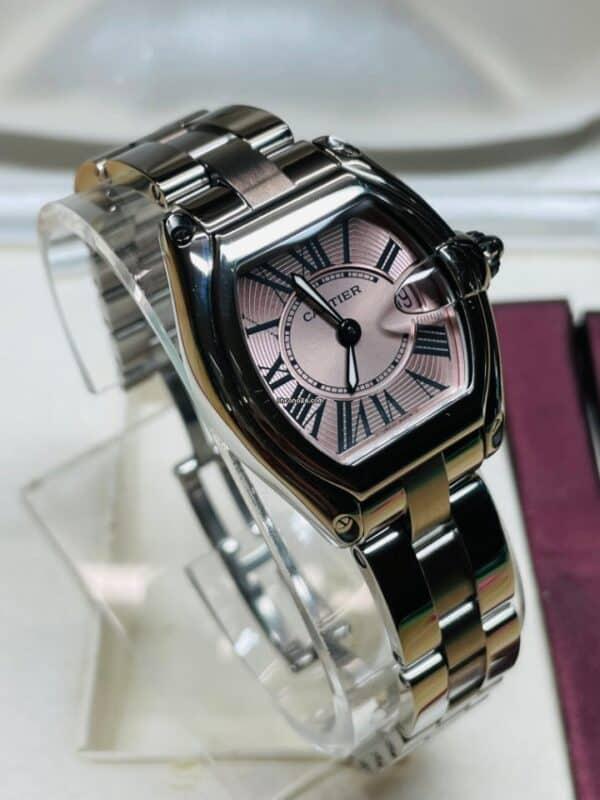 Cartier 2675 Pink Dial Side Left