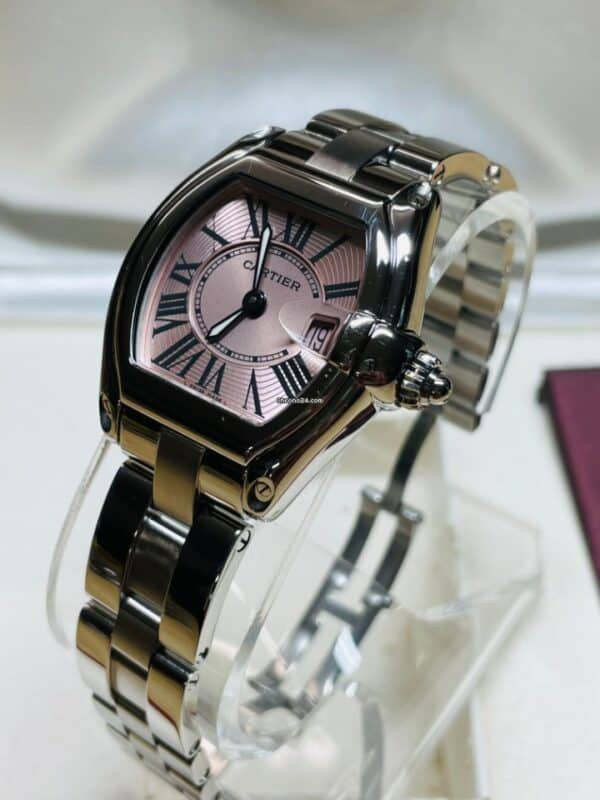 Cartier 2675 Pink Dial Side Right