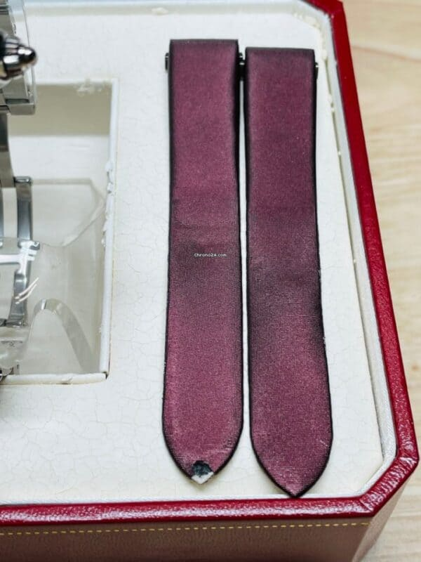 Cartier 2675 Pink Dial Straps
