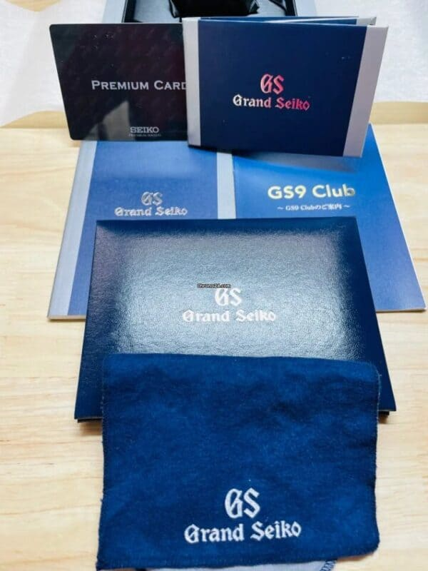 Grand Seiko Limited Edition Open Box