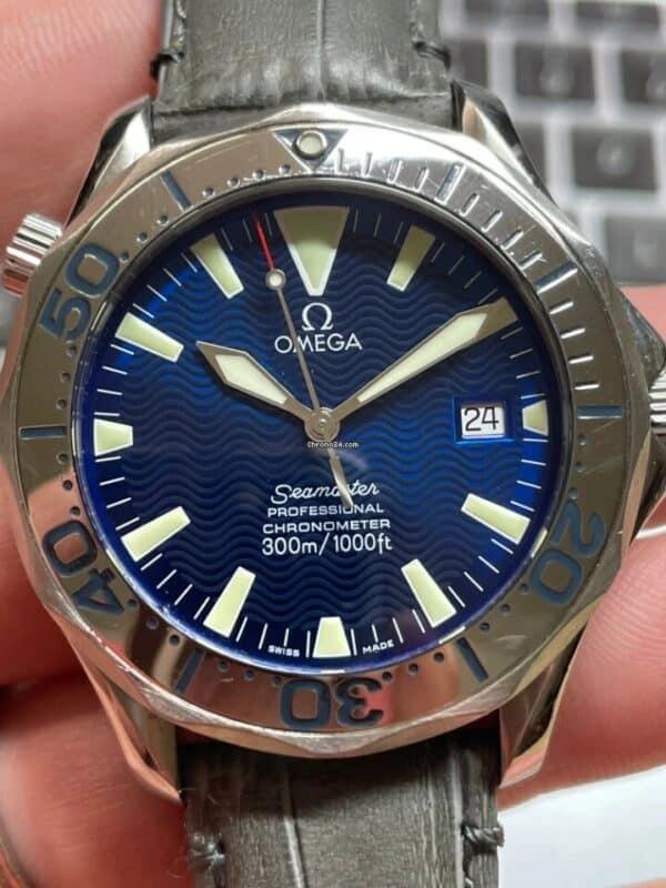 Omega Seamaster Blue Dial