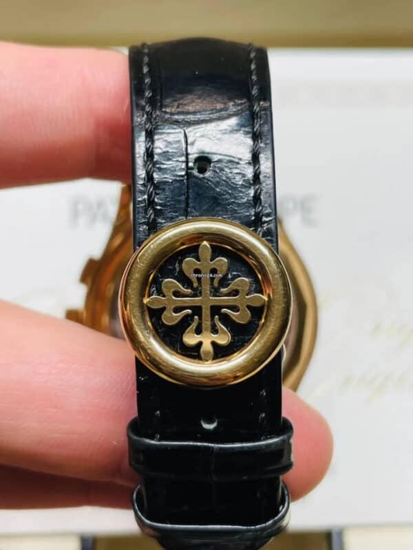 Patek Philippe 5170R-010 Rose Gold Black Dial Chronograph Clas[