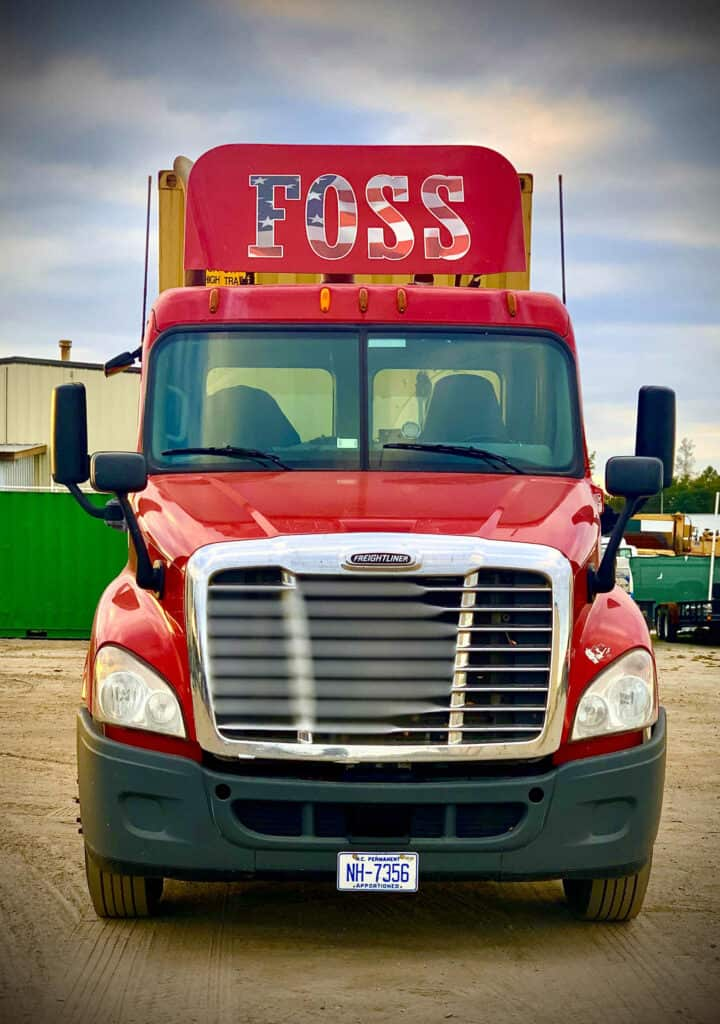 Foss, Inc. | Used Auto Parts Junkyards In Virginia & North Carolina | Foss Semi Truck