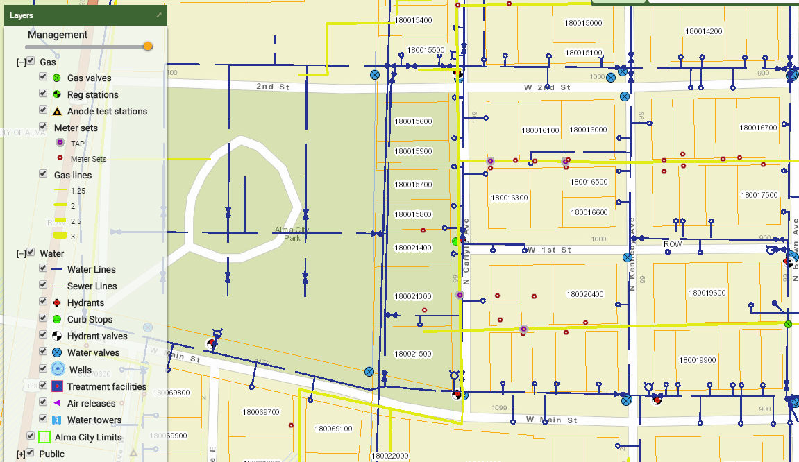 Data Collection: City of Alma