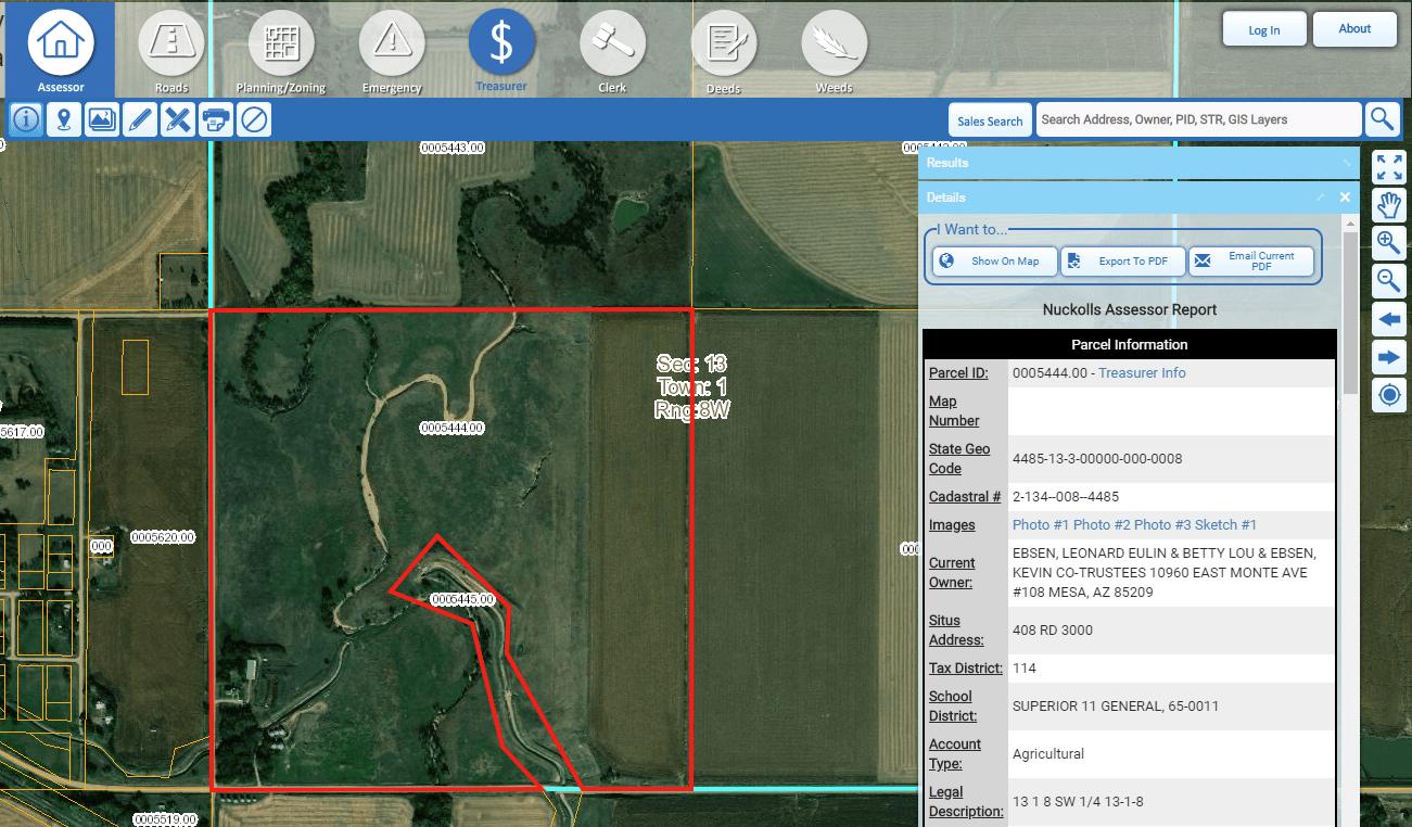 County Assessment GIS: Nuckolls County, Nebraska