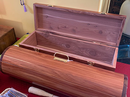 Cedar boxes to store your sacreds