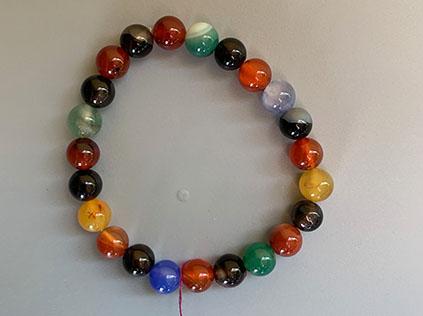 Mala bracelet with stones