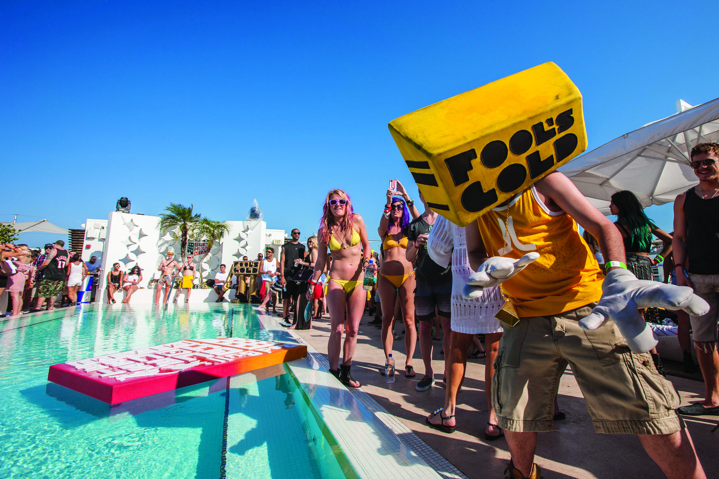 South Beach's Ten Best Pool Party Spots
