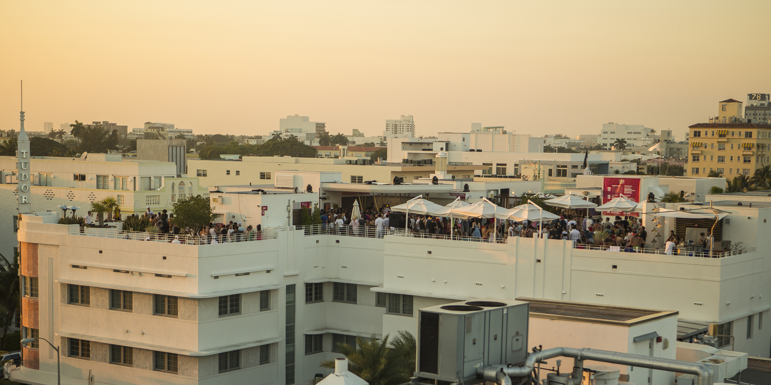 Miami's Ten Most Spectacular Rooftop Bars