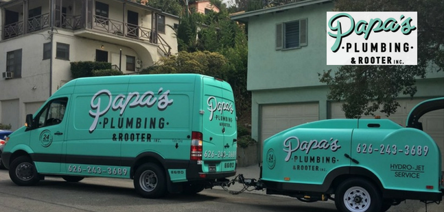 Call the Professionals at Papa's Plumbing and Rooters!