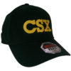 CSX Transportation Railroad Embroidered Flex Fit Cap Hat #40-0022FF CHOOSE SIZE