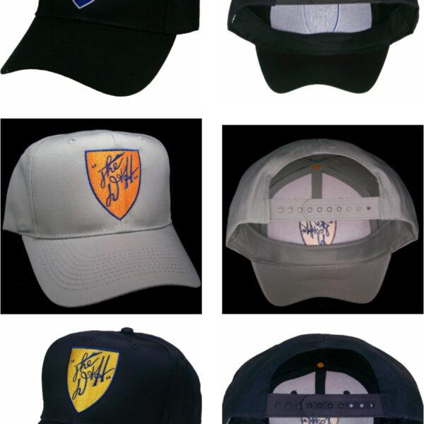 Delaware & Hudson D&H Embroidered Railroad Cap Hat #40-0034 Choose Color