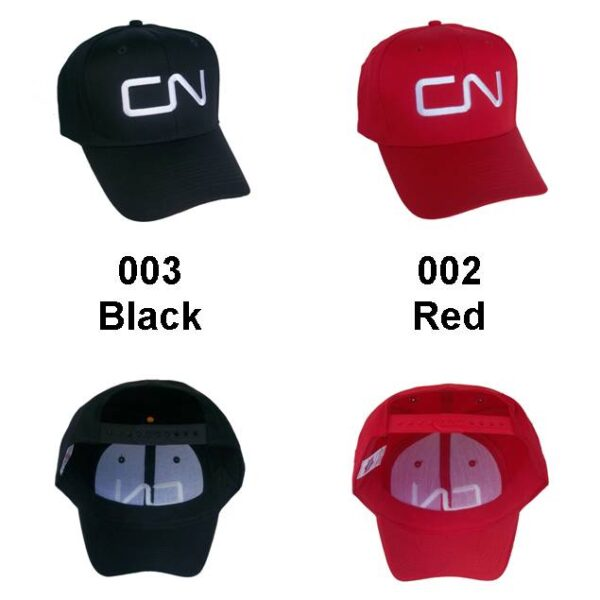 Canadian National Railway Embroidered Cap Hat #40-0045