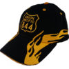 Union Pacific Railroad Living Legend #844 Embroidered Flame Cap Hat #40-0844YF