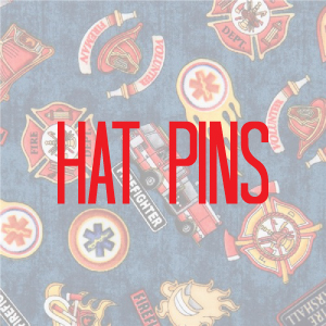 Hat Pins (Fire/EMT/Medical)
