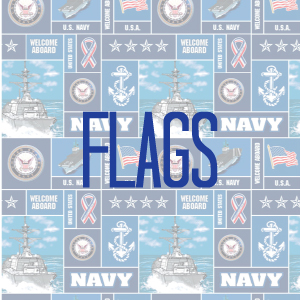 Flags (Navy)