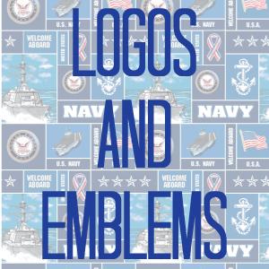 Logos & Emblems (Navy)