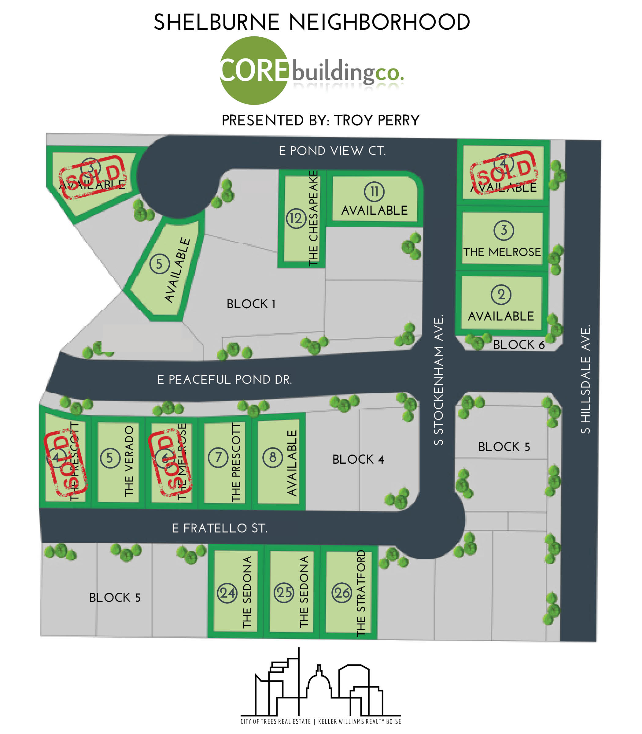 Core Lots in Shelburne Plat