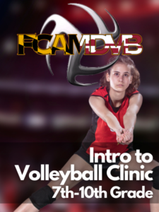Summer 2021 Introduction to Volleyball Clinic (Incoming 7th-10th grade) Feature Image