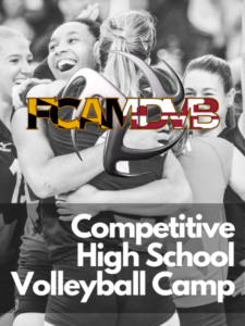 2021 Girls Competitive High School Volleyball Prep Camp Feature Image