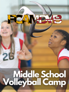 Summer 2021 Middle School Volleyball Camp (Incoming 6th-8th Grade Girls) Feature Image