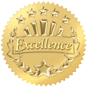 Cashiers - Don't Blame Them Excellence Badge