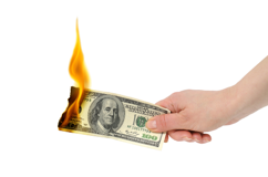 Coupons - Why Stores Don't Lose Money on Them Fire Photo