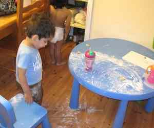 bake a cake with toddlers