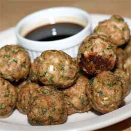 Chinese party meatballs