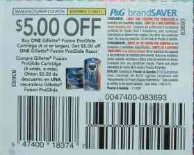 Can 5 Gillette Coupon Be Use For After Christmas Clearance